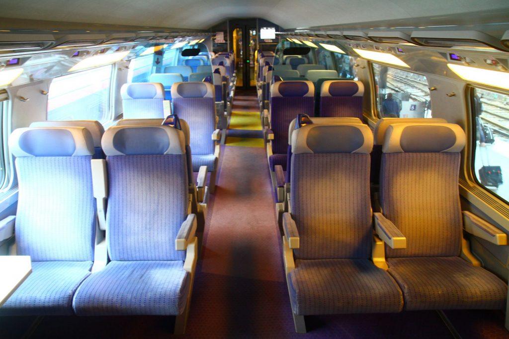 1等座席と2等座席の違い~TGV編~   鉄道マニアが教えるヨーロッパ鉄道 ...