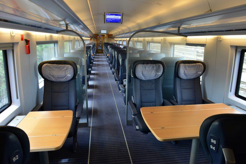 1等座席と2等座席の違い~ICE編~   鉄道マニアが教えるヨーロッパ鉄道 ...