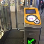 オランダの自動改札機
