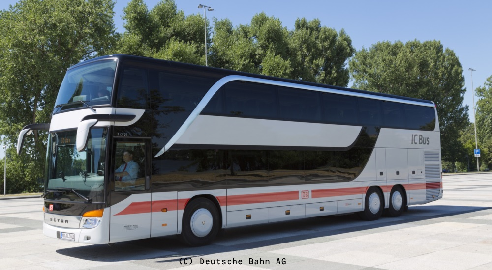 DB IntercityBus写真