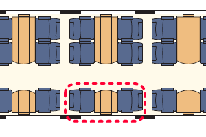 IC2000座席表