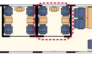 FrecciaRossa座席表
