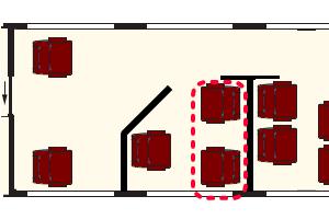 Railjet座席表