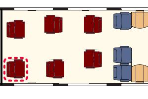 CD Railjet座席表