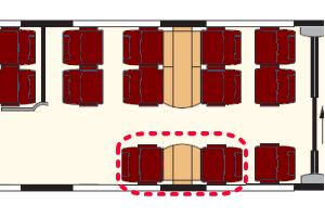 Italo座席表
