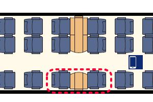 FS InterCity座席表