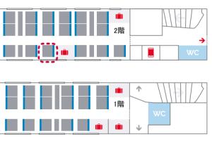 TGV座席表