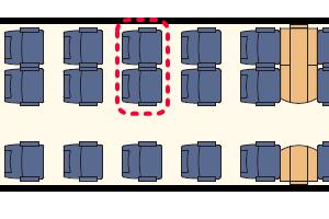ALVIA座席表