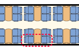 ZSSK Intercity座席表