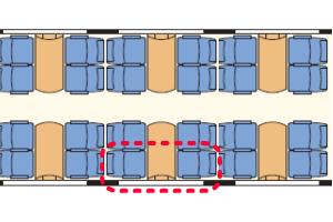 GlacierExpress 座席表