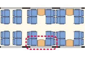 レッチェベルク急行座席表