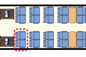 MD座席表