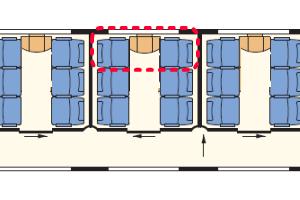 EuroCity座席表