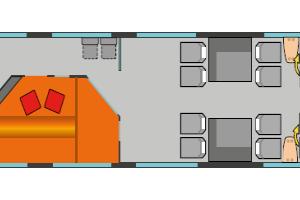 VYインターシティ座席表