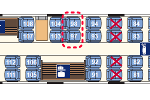 ICE座席表