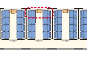 MAV座席表