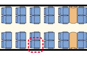 EurocityExpress座席表