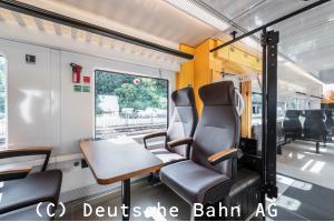 DB Regional 1等座席写真