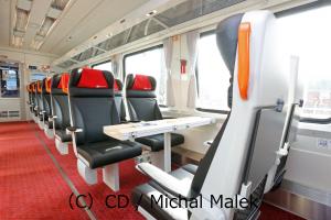 EuroCity1等座席写真