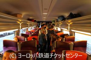 TGV Inoui 2等座席