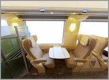 TGV Inoui 1等座席