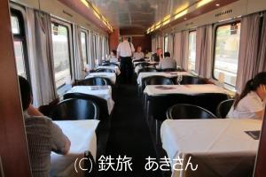 食堂車の写真