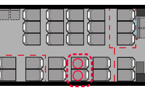 VYリージョナル座席表