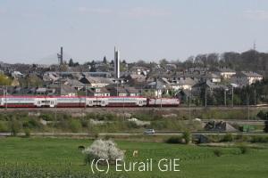 国際線TGV Bグループ